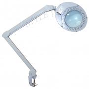 LED Лампа-лупа настольная