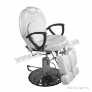 Кресло педикюрное ZD-346 White